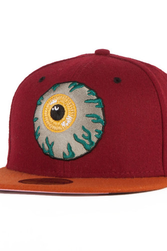 Бейсболка MISHKA Keep Watch New Era HO131701E (Cardinal, 7 1/2) цена