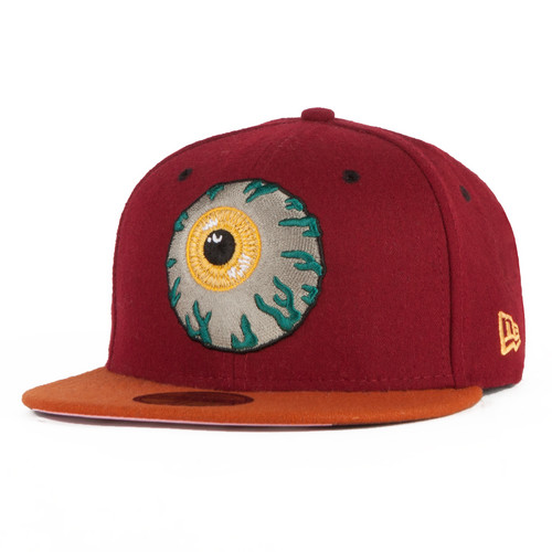 Бейсболка MISHKA Keep Watch New Era HO131701E (Cardinal, 7 1/2) бейсболка mishka reptilian keep watch new era 5950 black 7 5 8