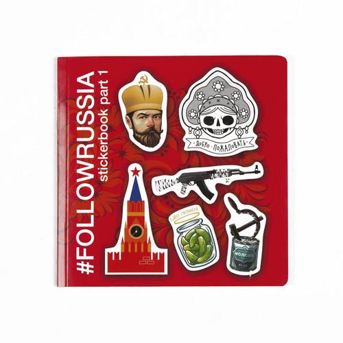 Стикербук FOLLOWRUSSIA (-)