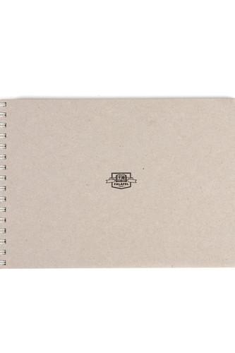 Скетчбук FALAFEL BOOKS А5 S5 (Grey, 402744)