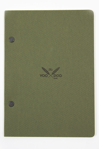 Тетрадь VOODOOBOOKS Forest Note (Green, A5 Portrait)