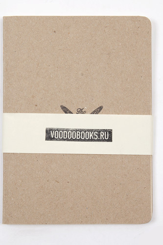 Тетрадь VOODOOBOOKS Krafty Travel Note (Grey, 10x14 см)
