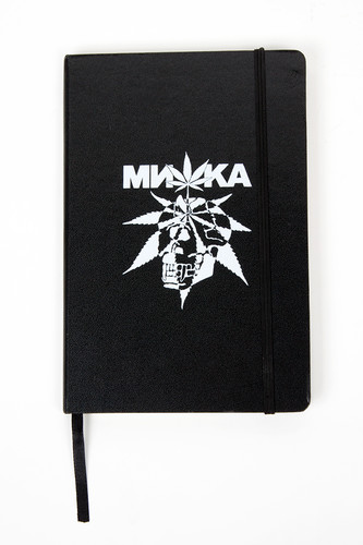 Блокнот MISHKA Cyco Sativa Notebook (Black)
