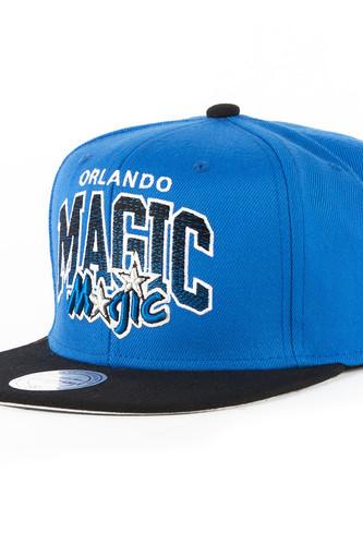 Бейсболка MITCHELL&NESS Orlando Magic EU092 (Blue, O/S) бейсболка mitchell