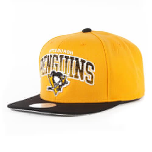 Бейсболка MITCHELL&NESS Pittsburgh Penguins EU092 (Yellow, O/S) mitchell f the maid s room