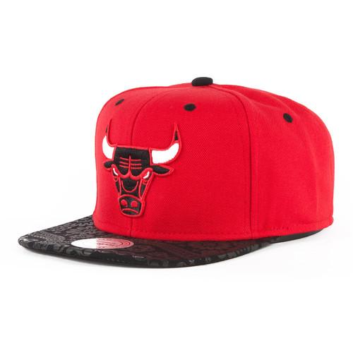 Бейсболка MITCHELL&NESS Paisley Print Sb Chicago Bulls EU138 (Red, O/S) велосипед bulls copperhead 3 s 2016