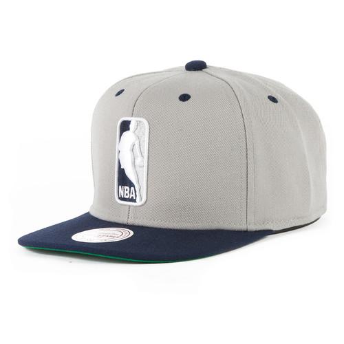 Бейсболка MITCHELL&NESS Nba Logoman EU444 (Grey/Blue, O/S) стоимость
