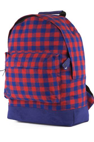 Рюкзак MI-PAC Gingham (Red/Blue-001) рюкзак mi pac gold orchid pale blue 041