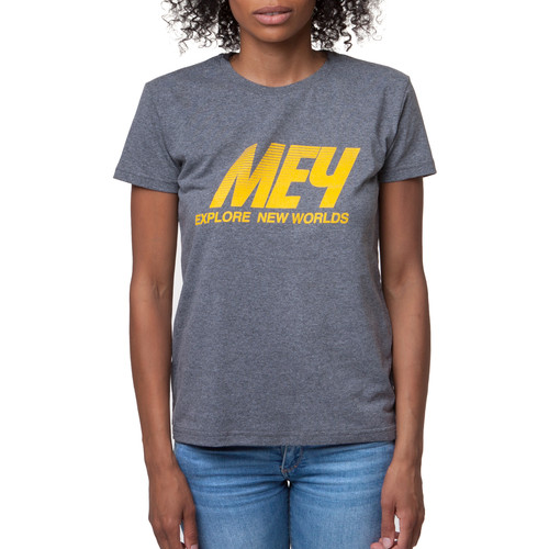 Футболка МЕЧ Logo/Grey женская (Серый, M) футболка женская oodji ultra цвет серый 14707001 7 46154 23a0z размер m 46