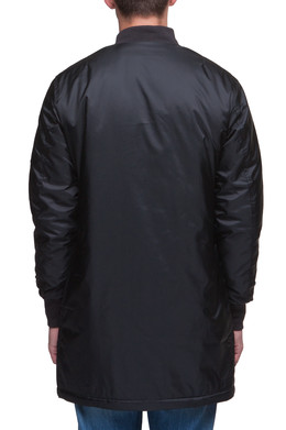 Куртка URBAN CLASSICS Long Bomber Jacket Black фото 2