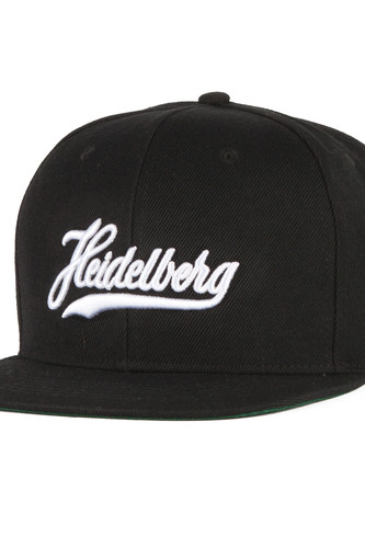 Бейсболка TRUESPIN Cities Heidelberg Gold (Black, O/S)