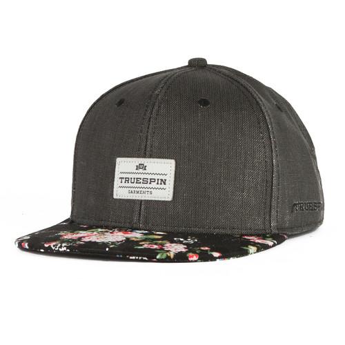 Бейсболка TRUESPIN Revo Thornes (Black/Black/Pattern, O/S) шапка truespin abc fw15 black black w