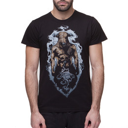 Футболка BREATHE OUT Minotaur T-Shirt Черный фото