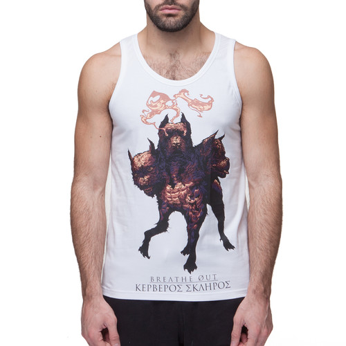 Майка BREATHE OUT Cerberus Tank Top (Белый, S) майка breathe out hey you tank top белый l