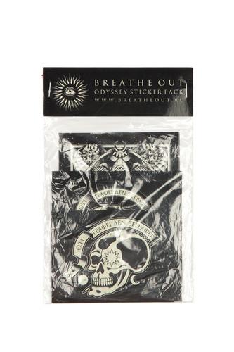 Стикер BREATHE OUT Odyssey Sticker Pack (-)
