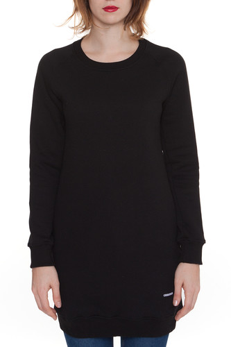 Толстовка CODERED Clean Dress женская (Черный, XS)