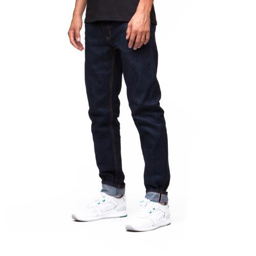 Джинсы ЗАПОРОЖЕЦ Сэлвидж (Raw Blue, 36) джинсы запорожец carrot fit men s denim zap 01r2 mid blue 36 34
