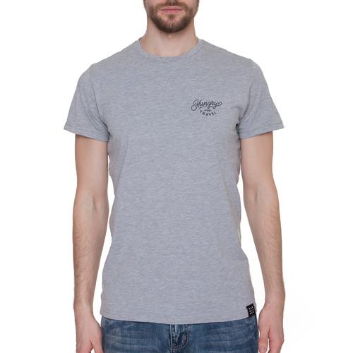 Футболка HARDLUNCH Travel F11/1 (Light Grey Melange, 2XL) футболка hardlunch travel f11 1 light grey melange 2xl