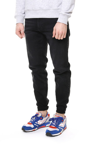 Джинсы URBAN CLASSICS Stretch Denim Pants (Black Washed, 38) джинсы мужские scotch