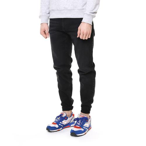 Джинсы URBAN CLASSICS Stretch Denim Pants (Black Washed, 38) цена 2017