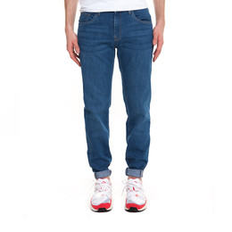 Джинсы URBAN CLASSICS Stretch Denim Pants Blue Washed фото 2