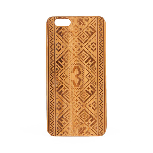 Чехол ЗАПОРОЖЕЦ Узор Дерево (Коричневый, IPhone 7) чехол запорожец зпржц multi iphone 6 6s
