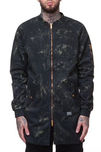 Куртка CROOKS & CASTLES Haze Trench Coat (Navy, L)