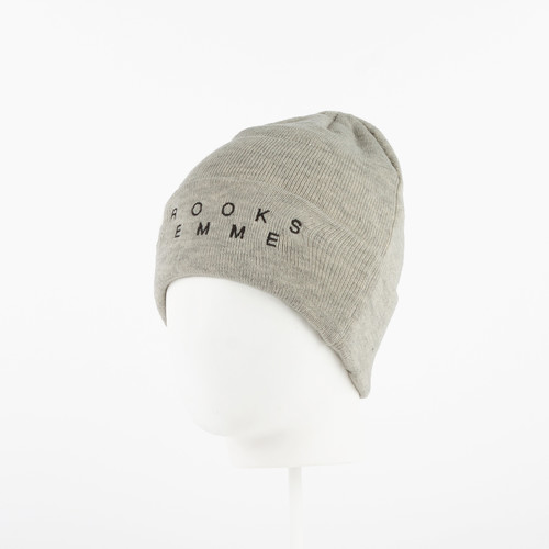 Шапка CROOKS & CASTLES Lost Girls Beanie (Heather Oatmeal)