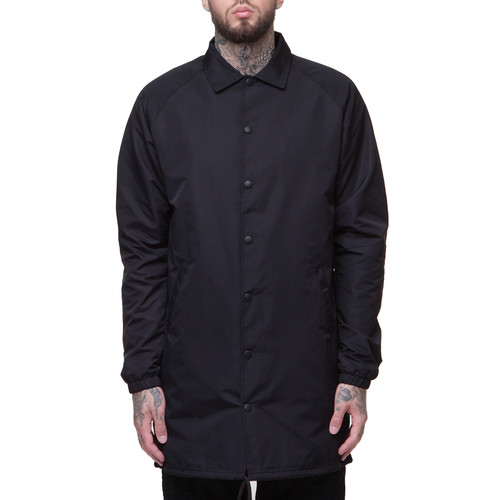 Куртка CROOKS & CASTLES Juice Coaches Jacket (Black, L)