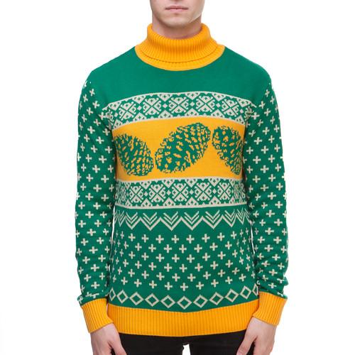Свитер ЗАПОРОЖЕЦ Cone (Green/Yellow, XL)