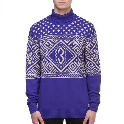 Свитер ЗАПОРОЖЕЦ Carpatians (Blue, XL)
