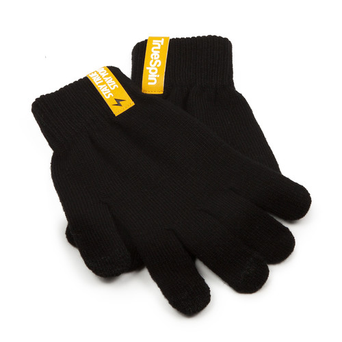 Перчатки TRUESPIN Touch Gloves Black фото 6