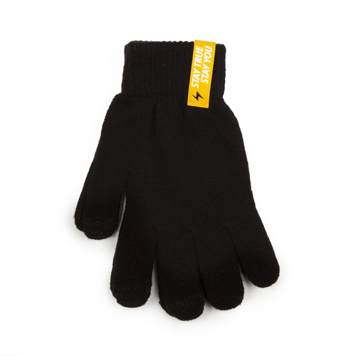 Перчатки TRUESPIN Touch Gloves Black фото 7