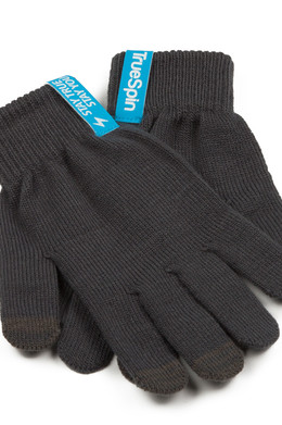 Перчатки TRUESPIN Touch Gloves Dark Grey фото 2