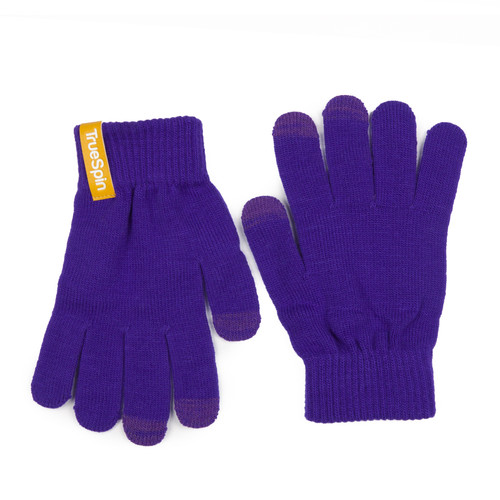 Перчатки TRUESPIN Touch Gloves Purple фото 5