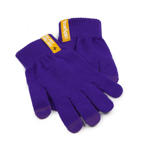 Перчатки TRUESPIN Touch Gloves Purple фото 6