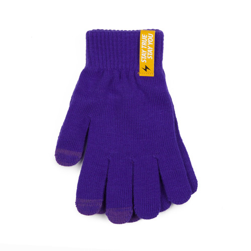 Перчатки TRUESPIN Touch Gloves Purple фото 7