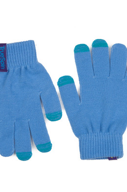 Перчатки TRUESPIN Touch Gloves Blue фото