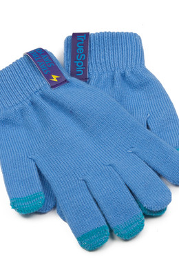Перчатки TRUESPIN Touch Gloves Blue фото 2