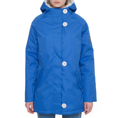 Куртка STREET BALANCE RoofTops WMNS Raglan Parka женская (Васильковый, L)
