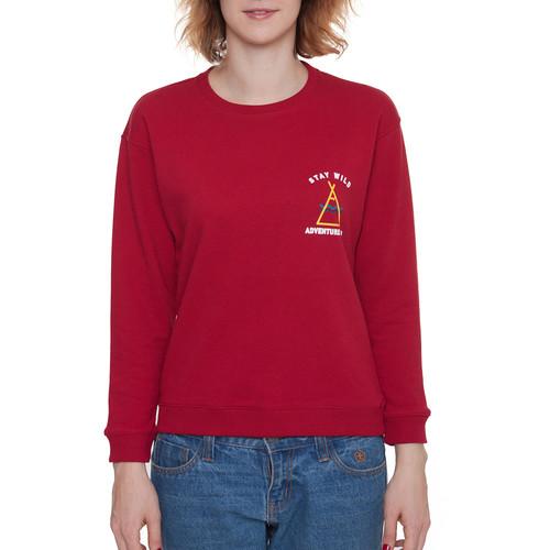 Толстовка МЕЧ AT W - SW - Adventure женская (Красный, M) цены
