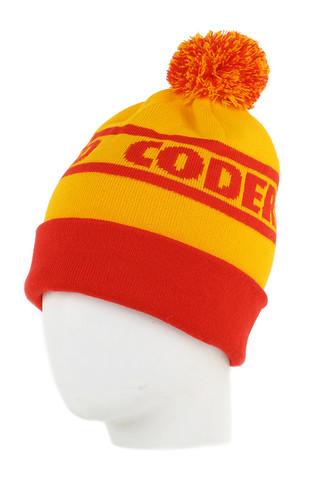 Шапка CODERED Club (Красный/Желтый)