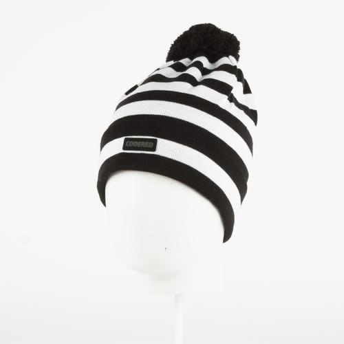 Шапка CODERED Stripe (Черный/Белая Полоска)