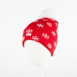 Шапка TRUESPIN TS Flakes Beanie Red фото