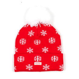 Шапка TRUESPIN TS Flakes Beanie Red фото 2