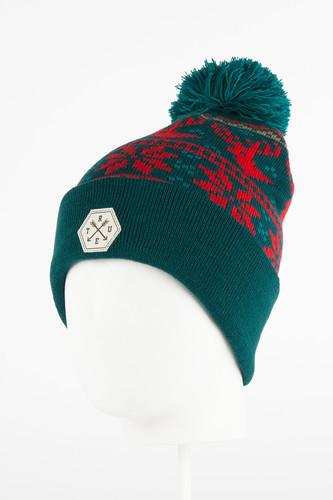 Шапка TRUESPIN TS Deer Beanie (Green) шапка truespin frozen green