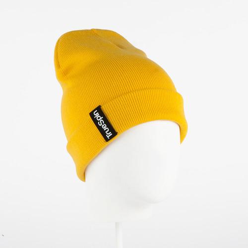 Шапка TRUESPIN Basic Style FW16 (Bright Yellow) наушники truespin basic headphone yellow