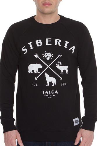 Толстовка ТАЙГА Siberia (Черный, XL)