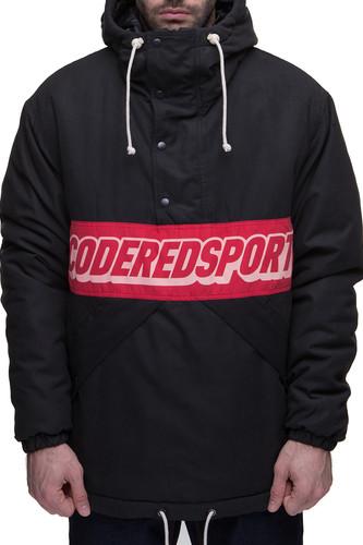 Куртка-Анорак CODERED Superblaster (Черный/Красный Винтаж, L) куртка codered train up теплый черный l