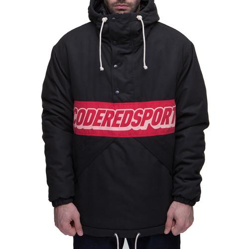Куртка-Анорак CODERED Superblaster (Черный/Красный Винтаж, L) толстовка codered block summer черный светло красный xs